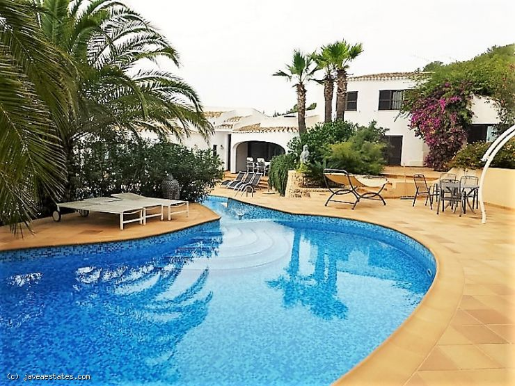 4 bed villa Mar Azul, Javea