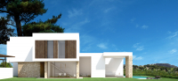 3 bed modern, new villa, Moraira