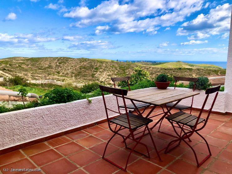 2 bedroom finca with astonishing sea views