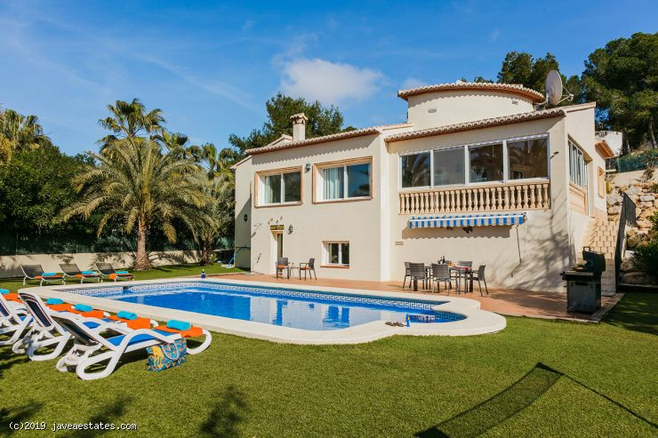 Villa Corriol, Javea, 3 bed from £1200 p/week