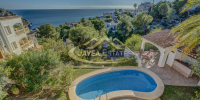 Sea-view 3 bed villa for holiday rental from £700 per week